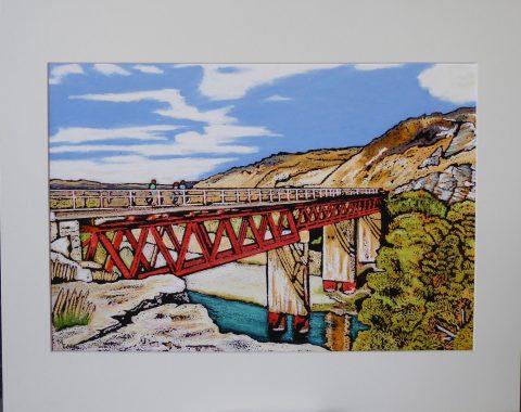 Print - Small - Manuherikea Bridge, Central Otago