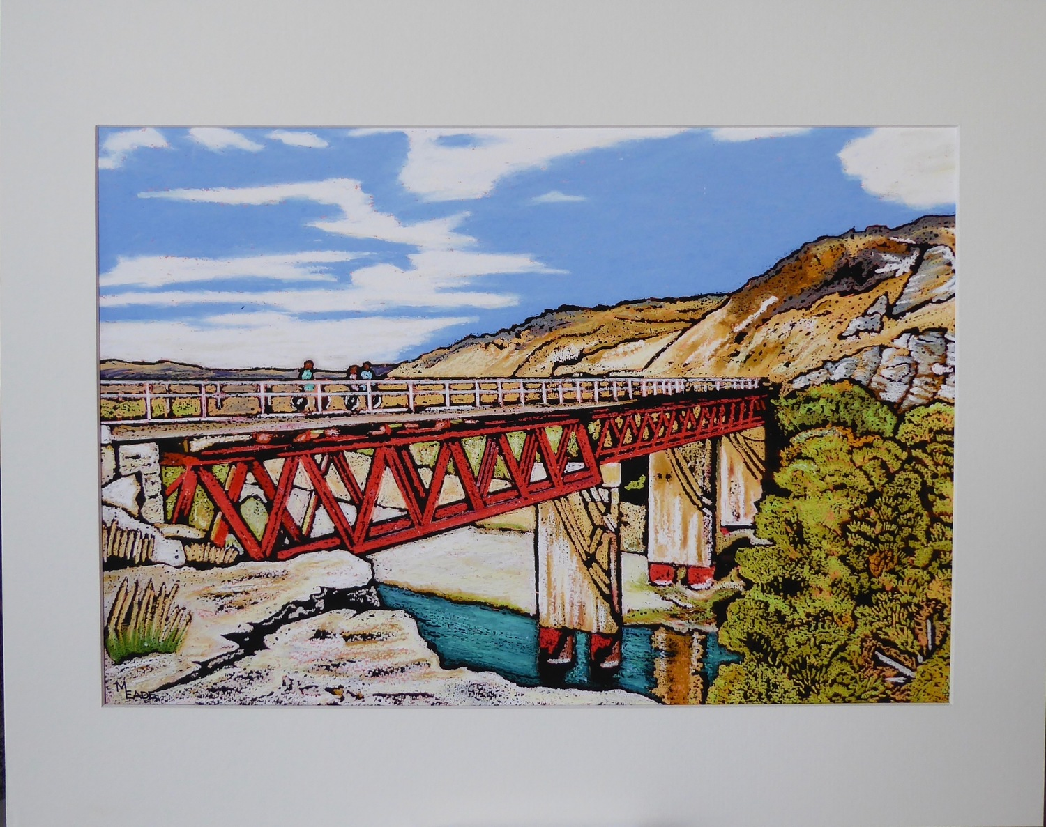 Print - Small - Manuherikea Bridge, Central Otago