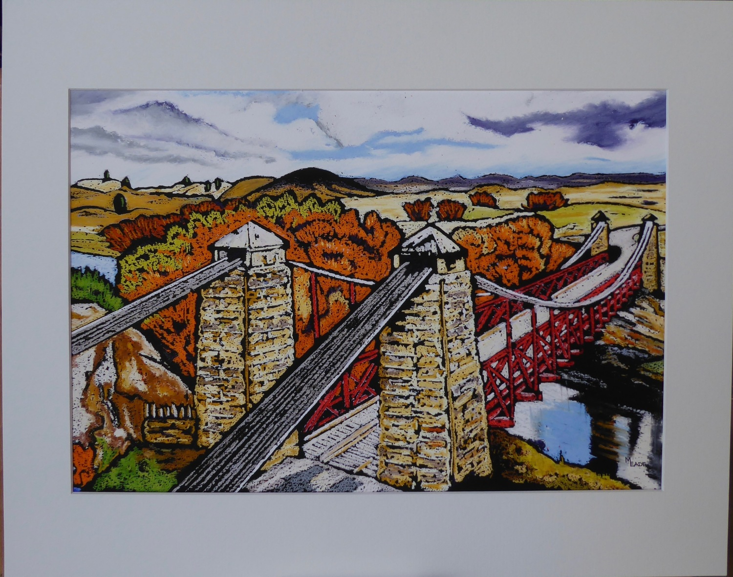 Print - Large - Ophir Bridge, Central Otago