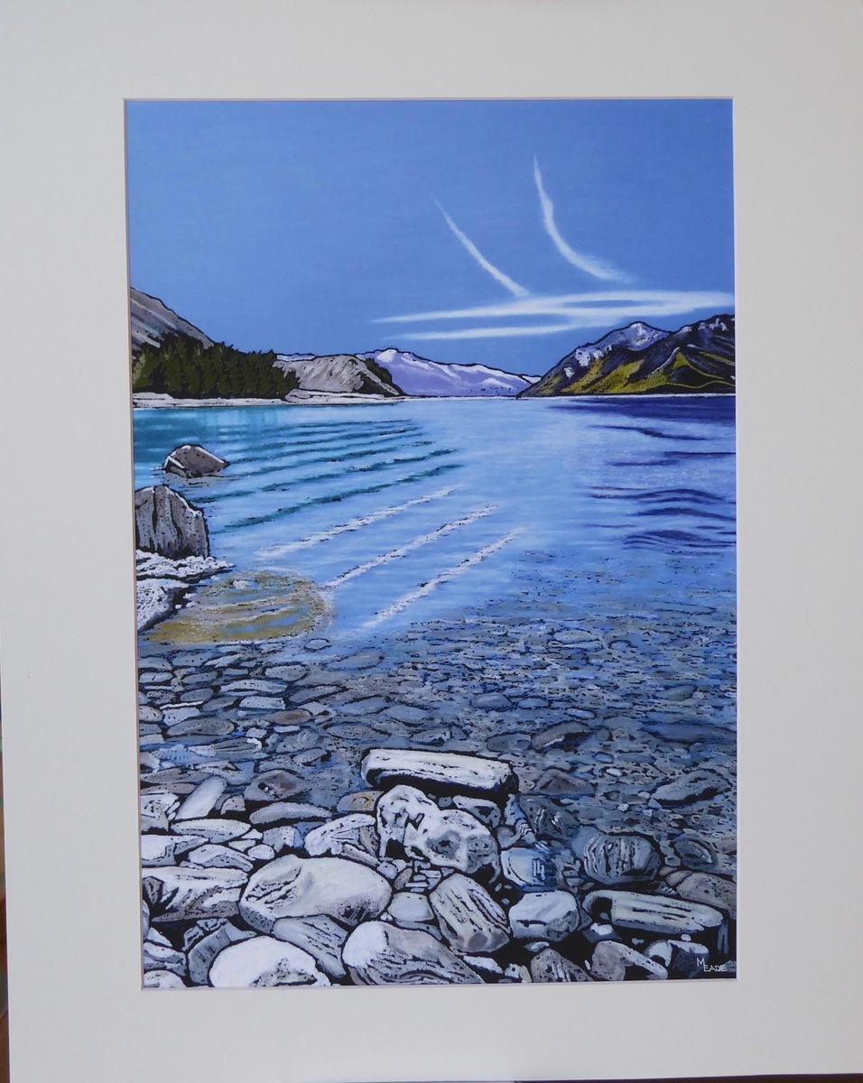 Medium print - Lake Hawea, Central Otago
