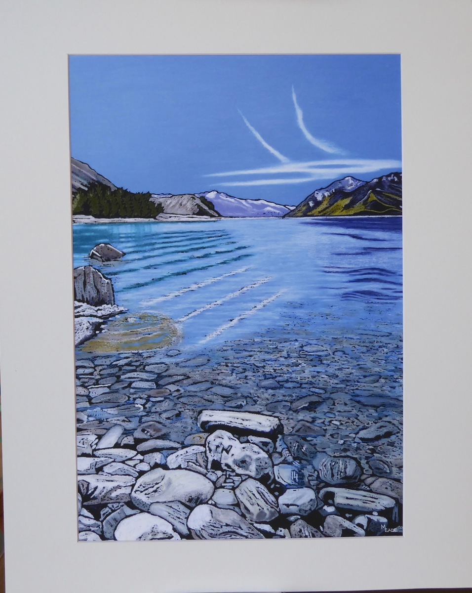 Print - Large - Lake Hawea, Central Otago