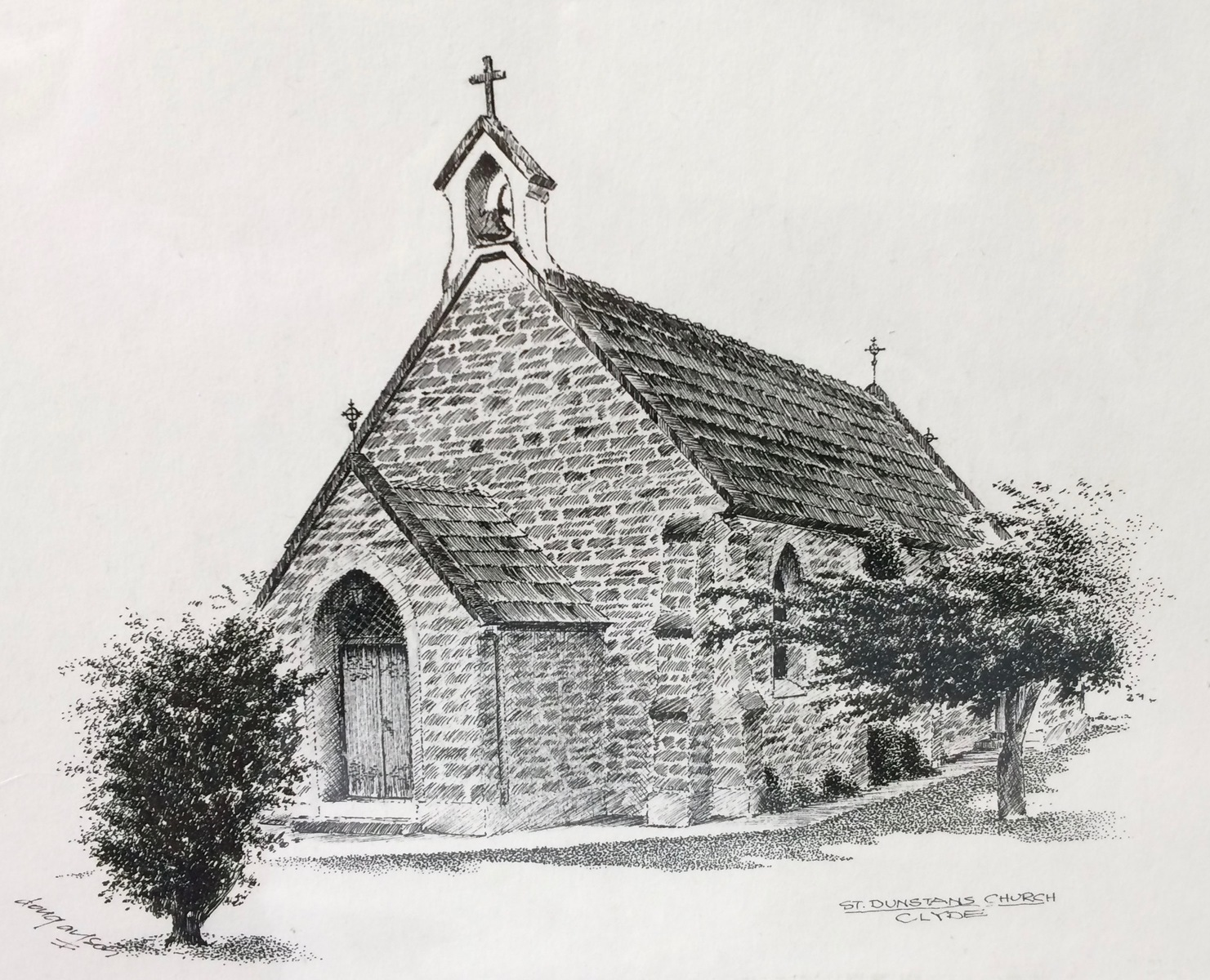 St Dunstan's Church, Clyde