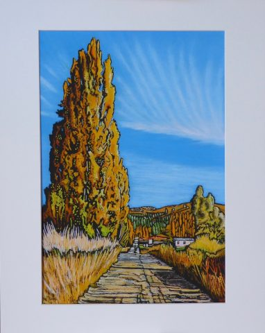 Print - Medium - Autumn Earnscleugh, Central Otago