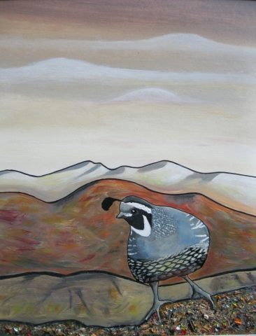 Print - medium - Quail Watch