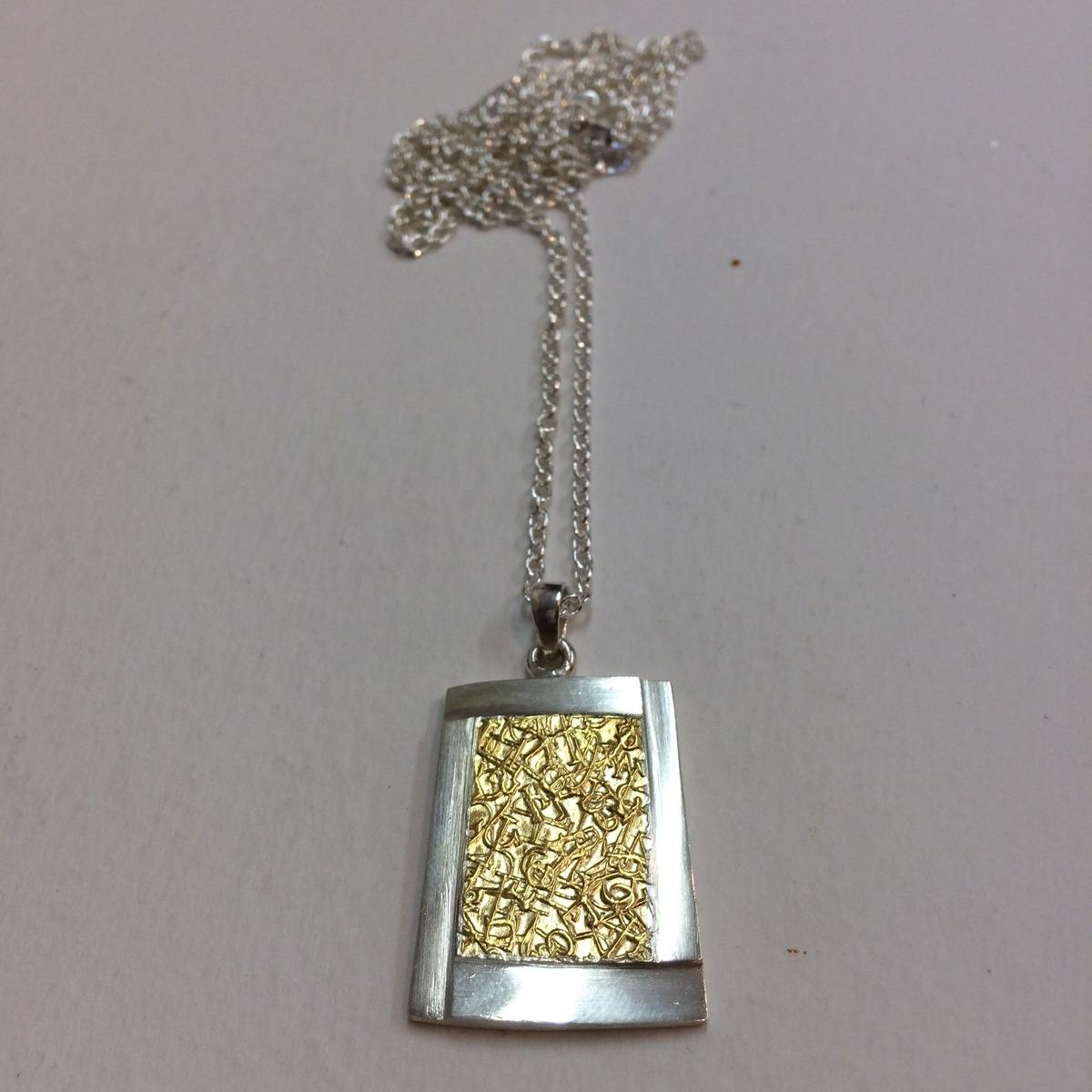 Text -ure  Pendant small size