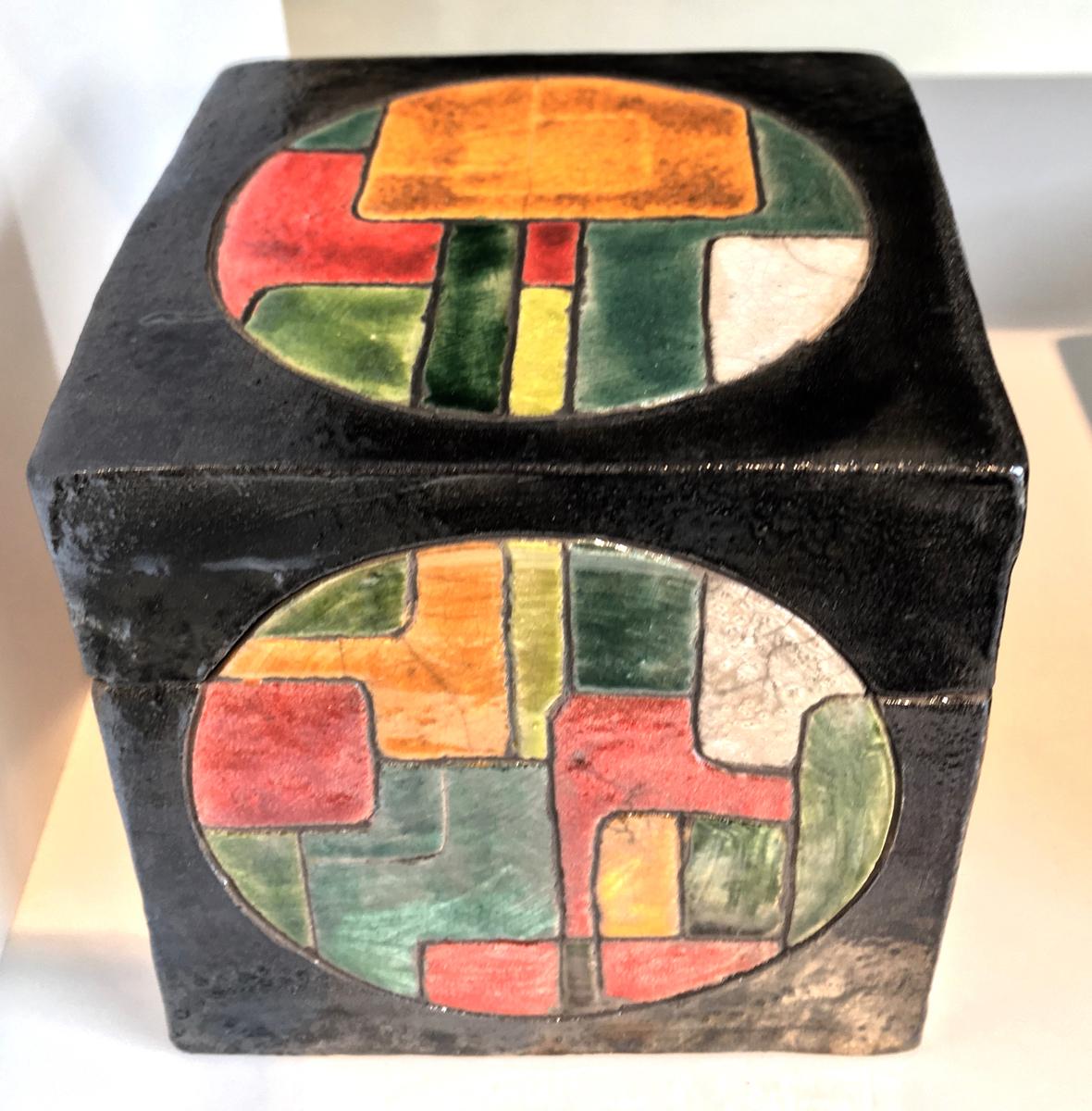 Mondrian Inspired Treasure Box