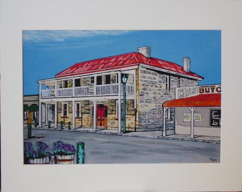 Print - Small - Dunstan House, Clyde, Central Otago