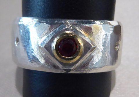 Garnet Ring   #4475
