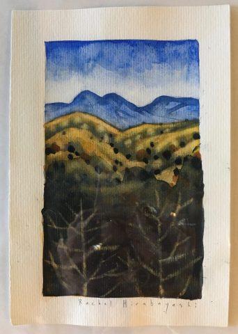Small watercolour series
