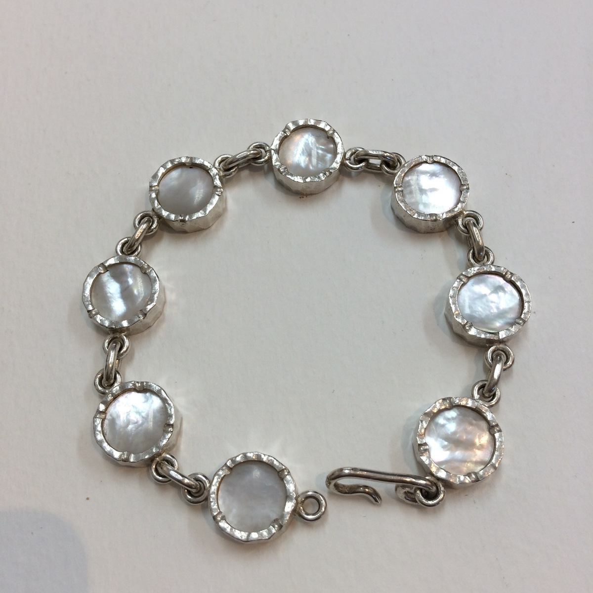 White Mother of Pearl bracelet