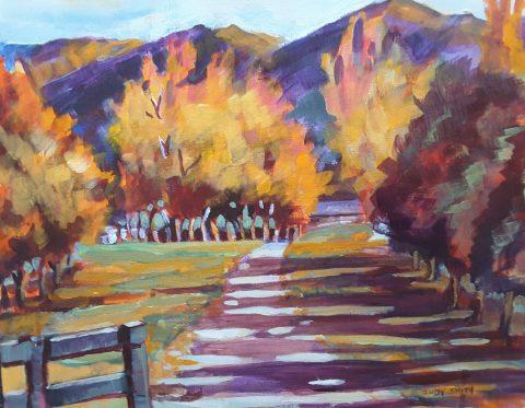 Earnscleugh Road Driveway, Central Otago