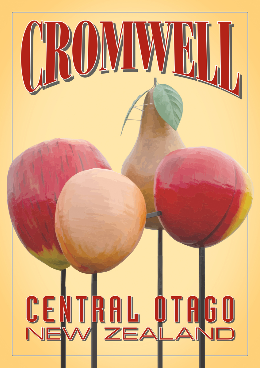 Cromwell Fruit A3 poster