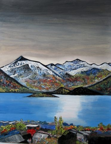 Print - medium - Impressions of Wanaka
