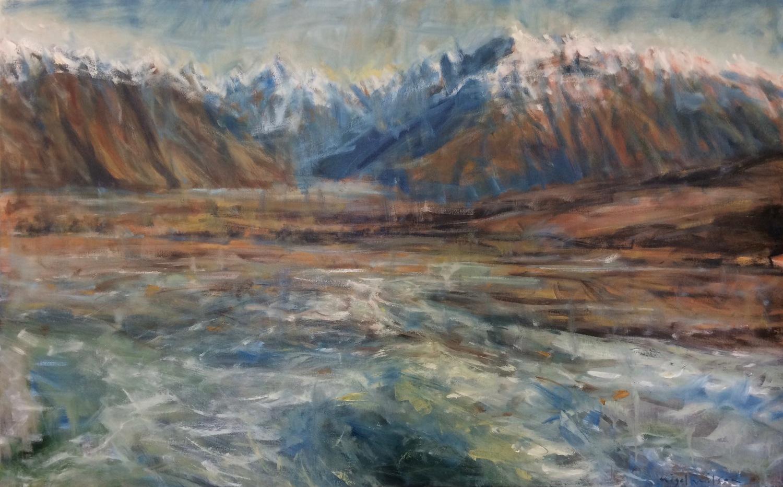 Braided River Series - Potts River Rangitata Tributory