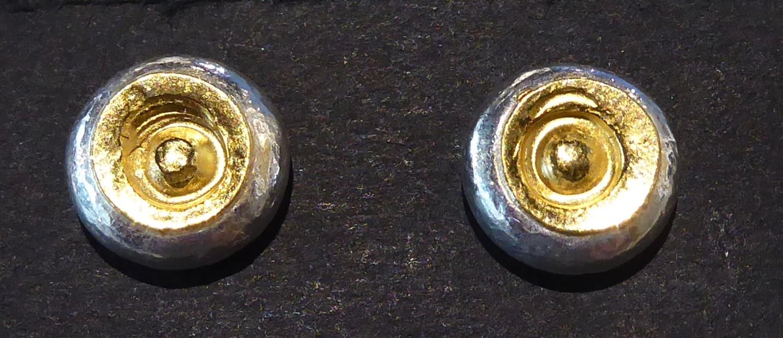 Circle in Circle stud earrings
