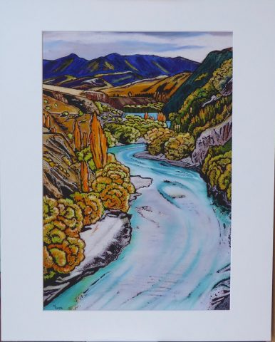 Print - Large- Kawarau River, Central Otago