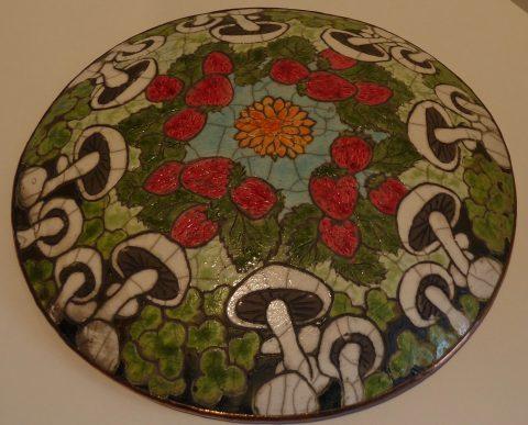 Botanical plaque