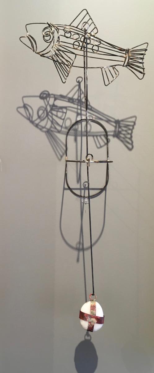 Kinetic Fish sculpture