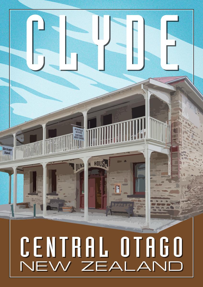 Dunstan House, Clyde A2 poster