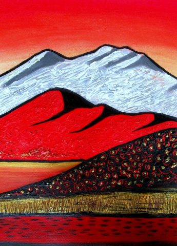 Print - medium - Fabric of our Hills