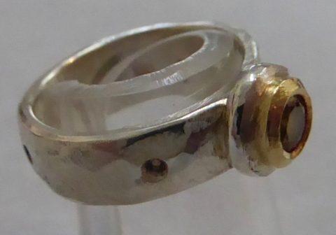 Garnet Ring   #5282