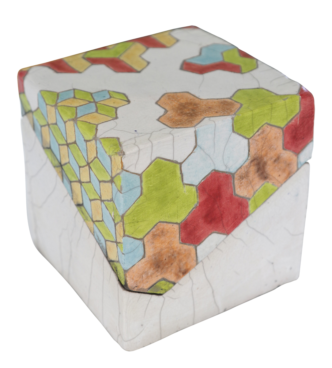 Tessellated Lidded Box