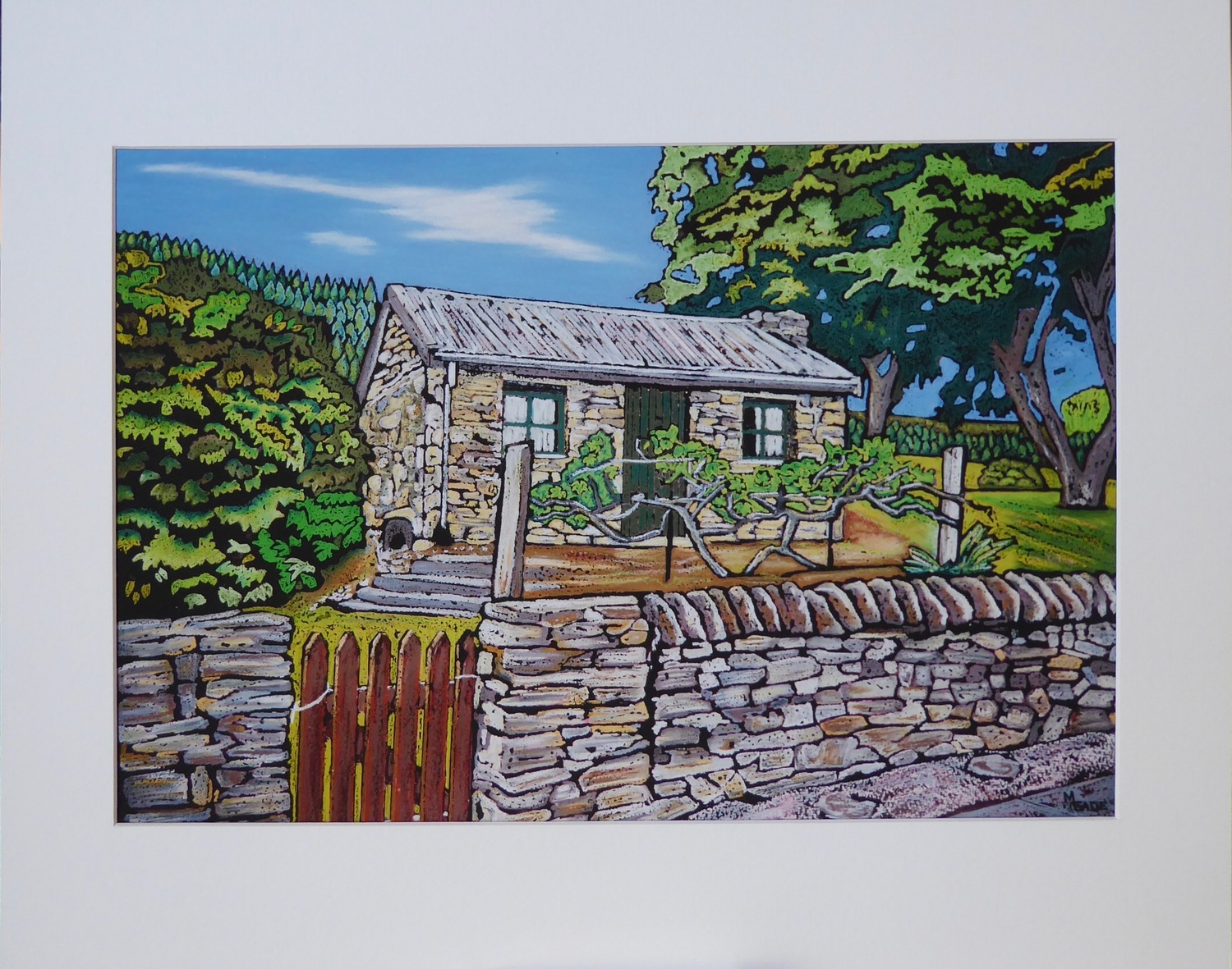 Print - Small - Holden Cottage, Clyde, Central Otago