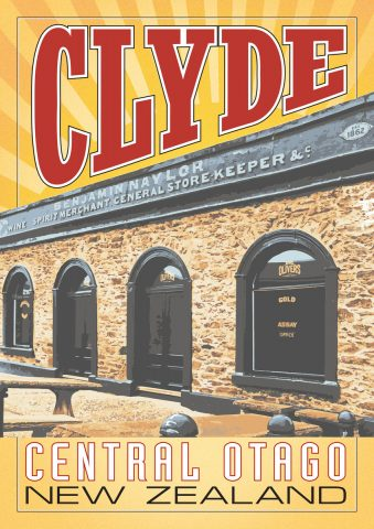 Oliver, Clyde A3 poster