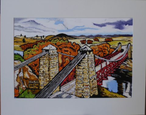 Print - Medium - Ophir Bridge, Central Otago