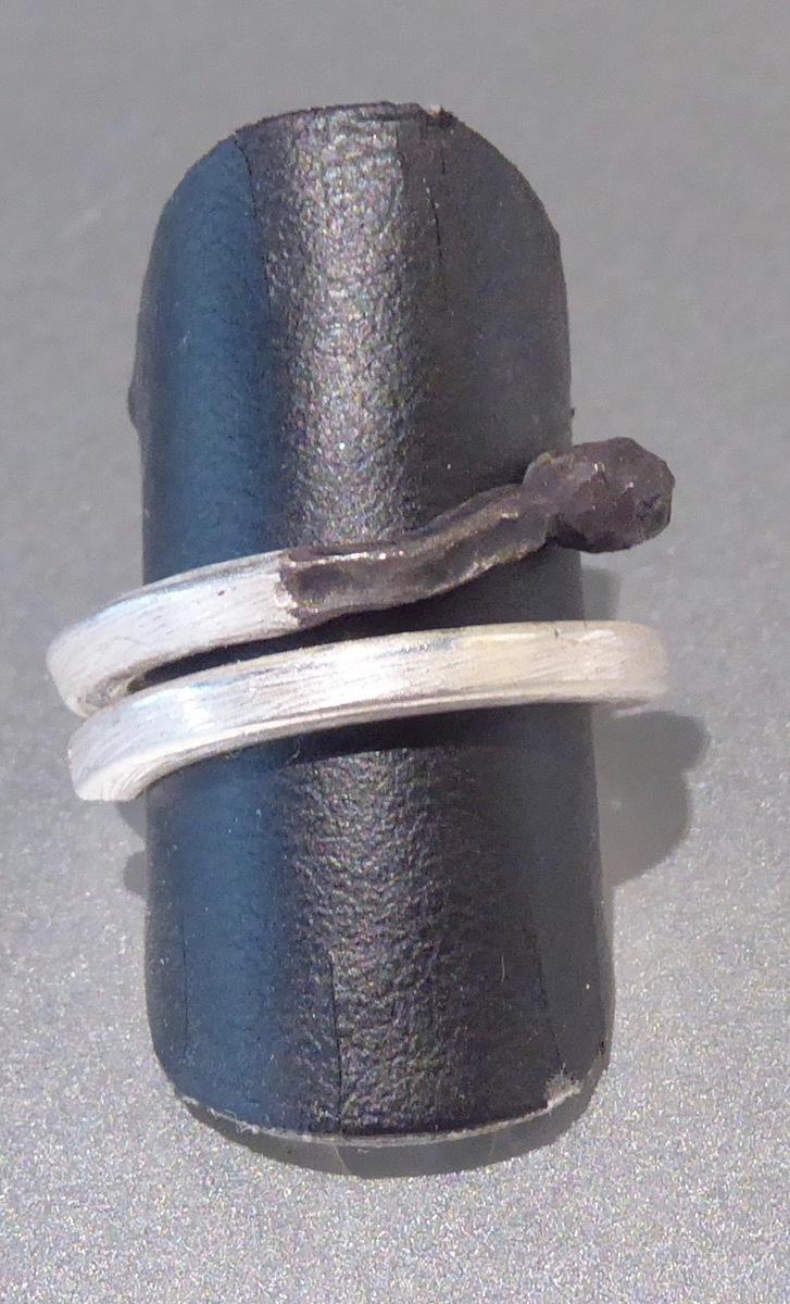 Burnt match ring