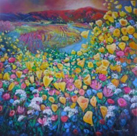 Poppies and Wildflowers, Alexandra