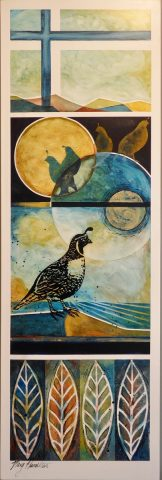 Looking at the Moon Series - Quail
