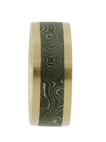 Damascus Wedding Band -web3