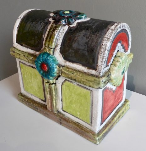 Memorial Casket - Cromwell - Forged in Clay solo exhibition