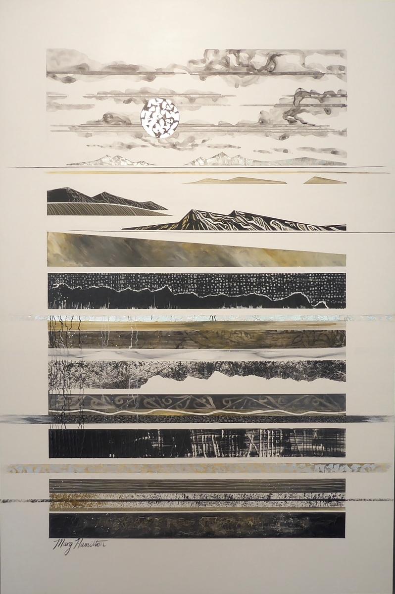 Looking at the Moon Series - Marama hua
