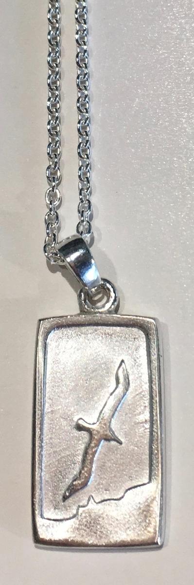 Albatross Tablet pendant (light)