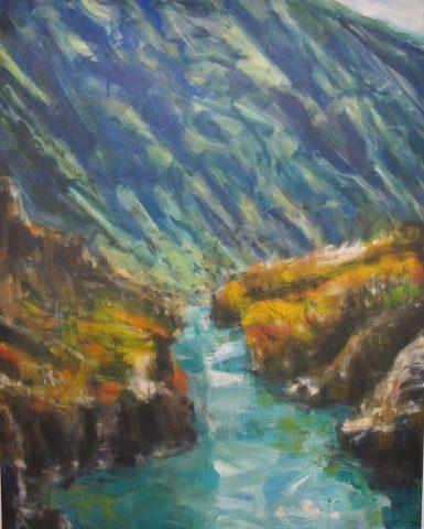 Kawarau Gorge - Overture Solo exhibition