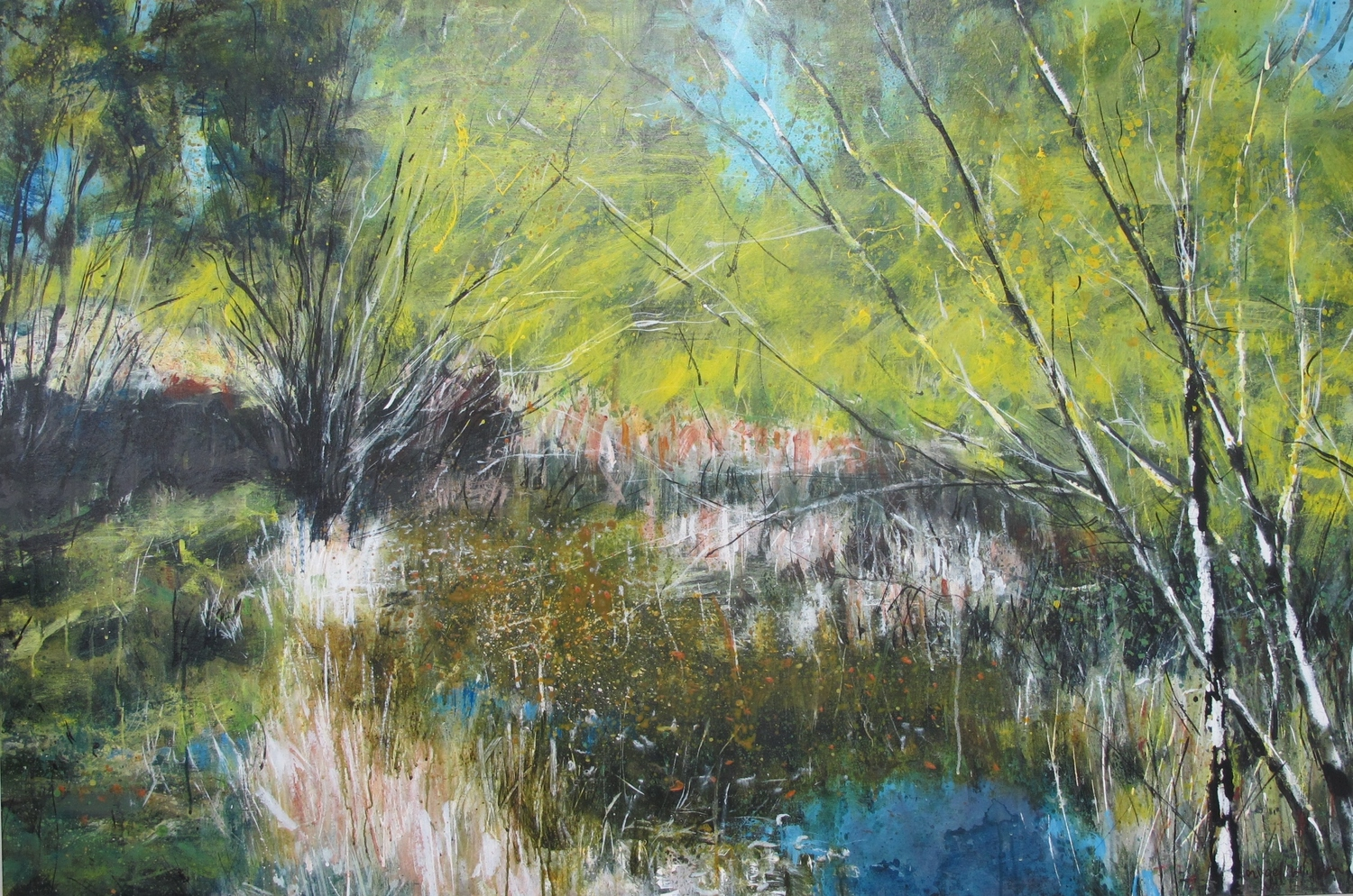 Wilson's Pond - Overture Solo Exhibition