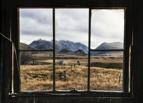 Musterers Window - photography