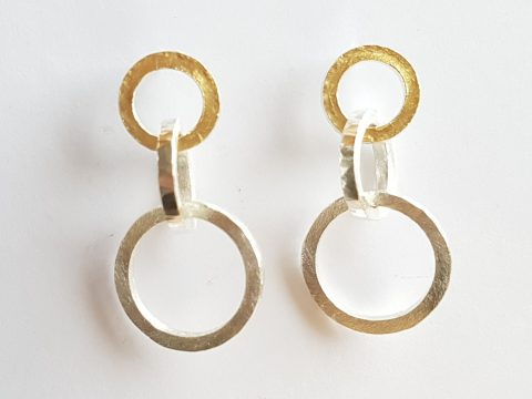 Interlaced earrings