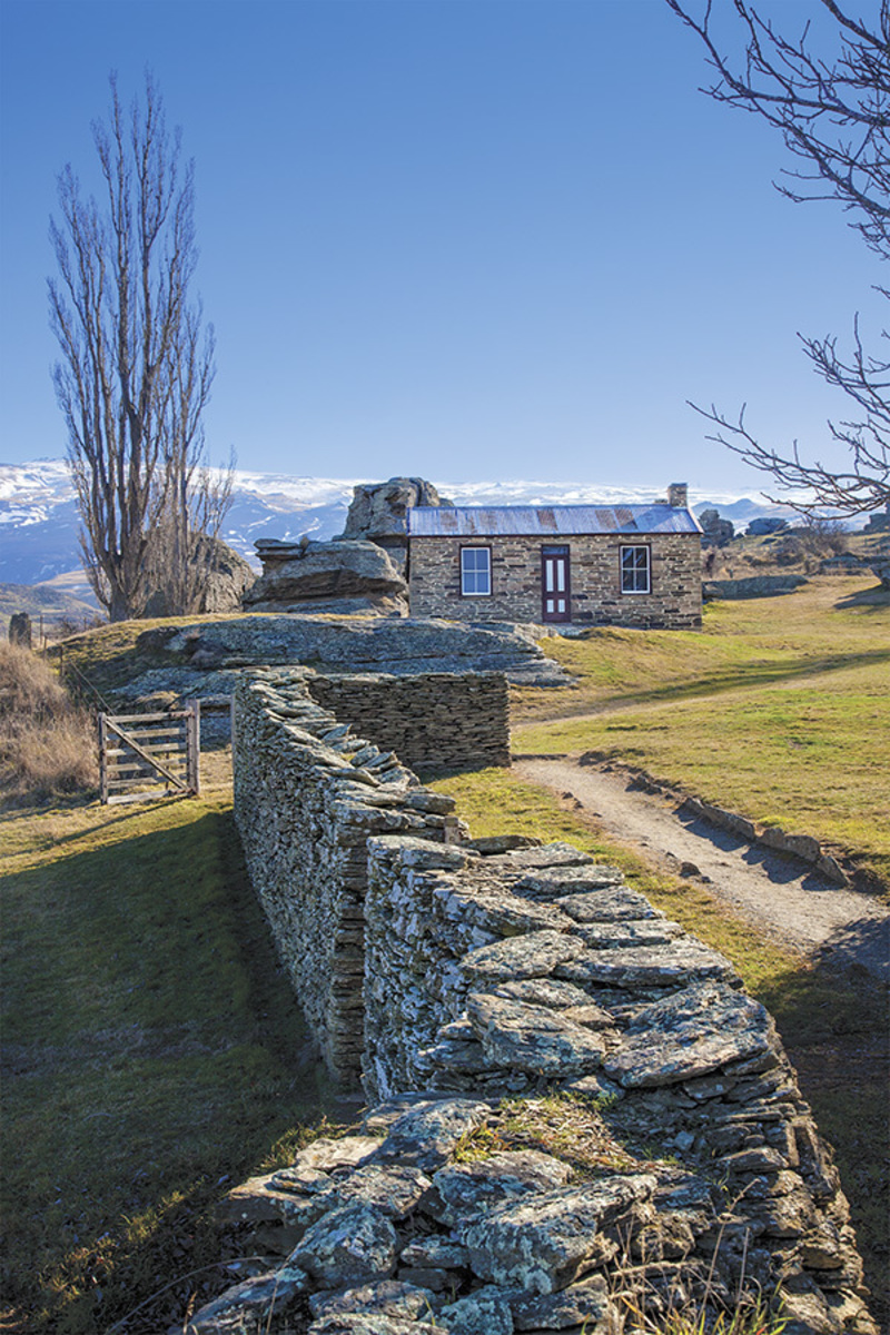 Mitchell's Cottage, Fruitlands, Central Otago Photo Block Large