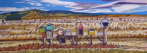 Rural Delivery - Outlines Solo Exhibition