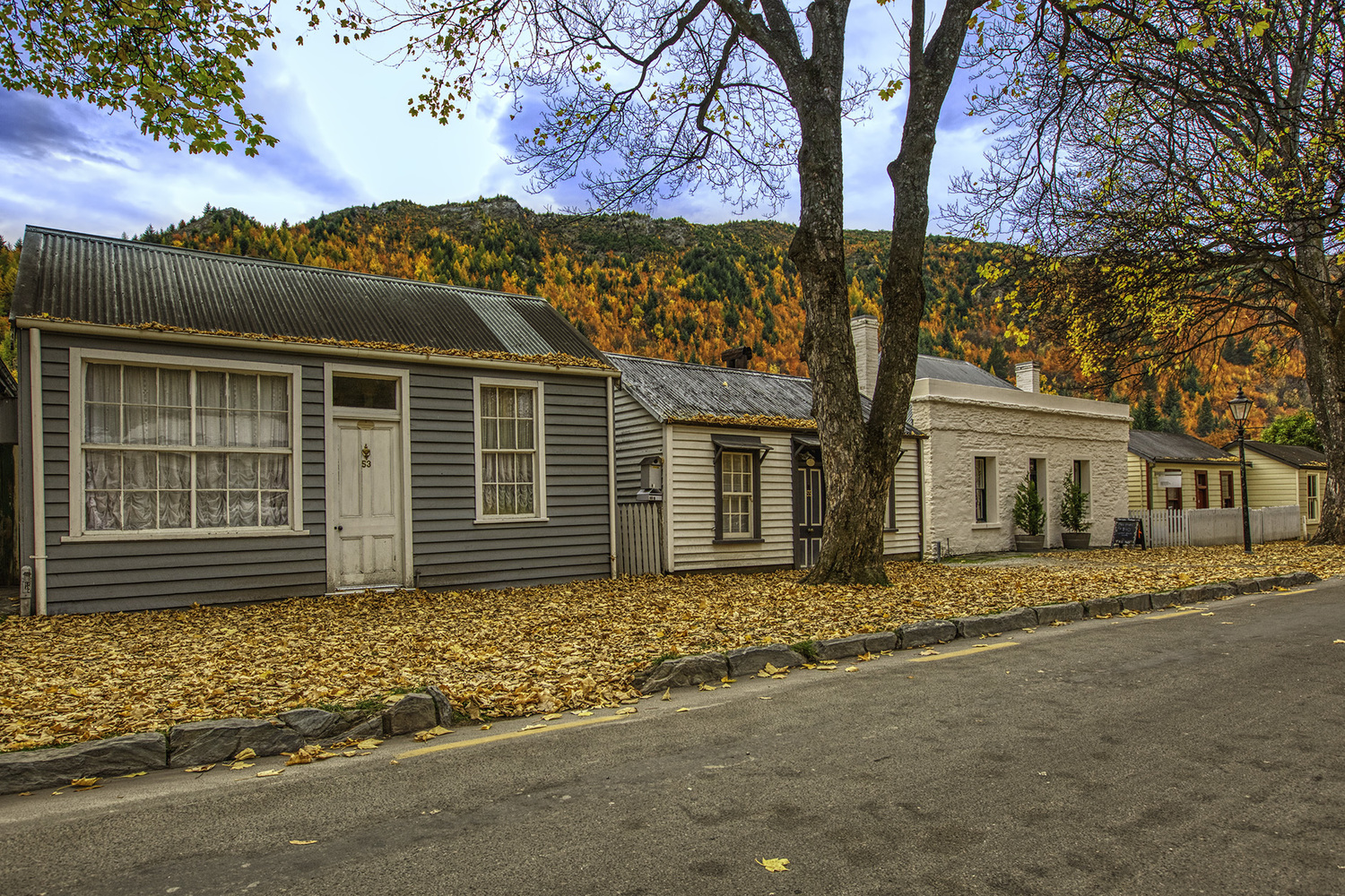 Autumn, Arrowtown large photo block