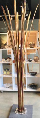 Raupo indoor or outdoor sculpture