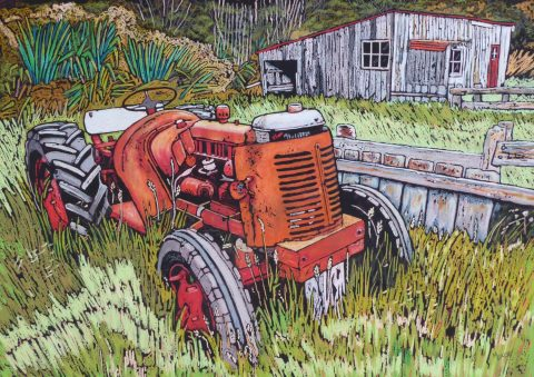Out to Pasture - Outlines Solo Exhibition