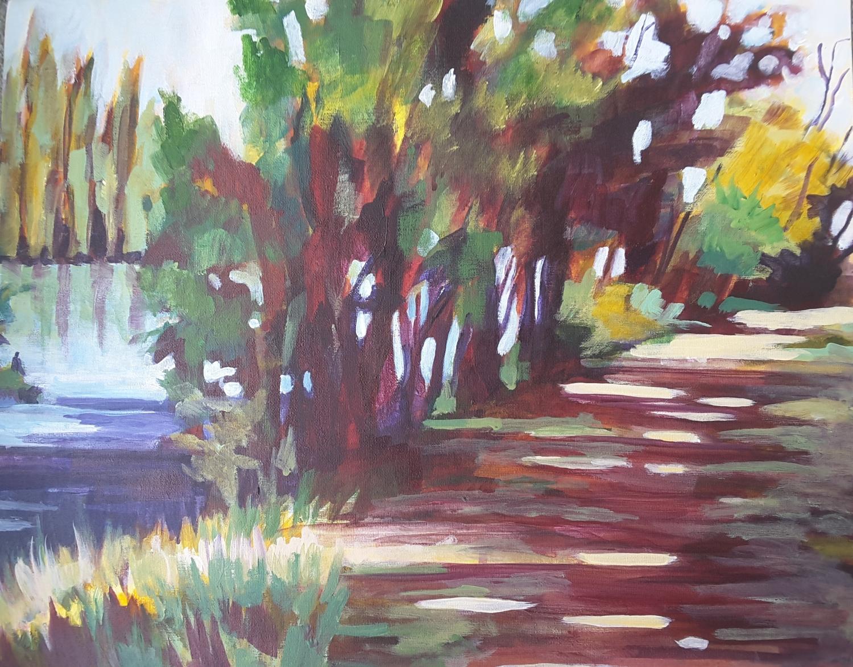 River Track at Alexandra1 -solo exhibition -