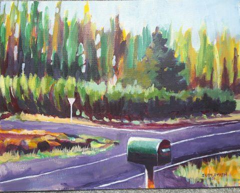 Letterbox Earnscleugh Road -solo exhibition -