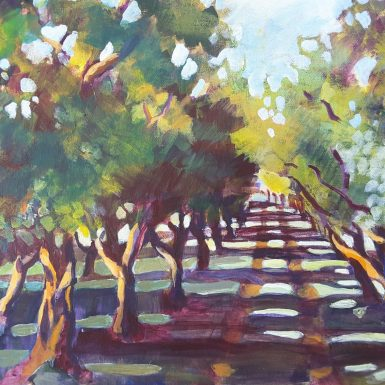 "Driveway Through the Trees -solo exhibition - ""Around And About alexandra"""