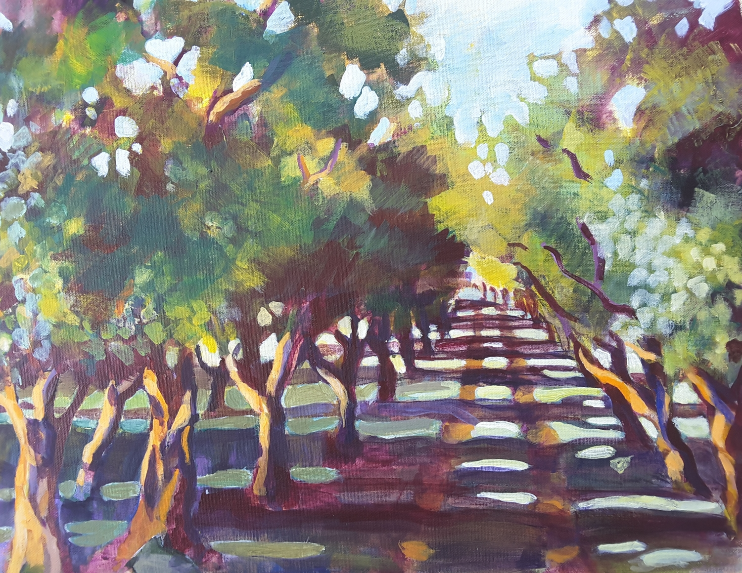 Driveway Through the Trees  -solo exhibition -