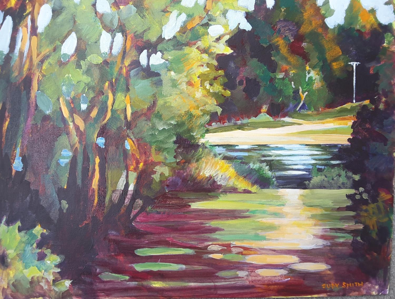 River Track at Alexandra 2 -solo exhibition -